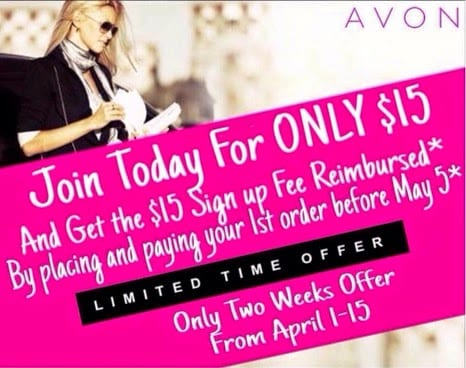 Sign Up To Sell AVON Online-Become a Representative Today for only $15