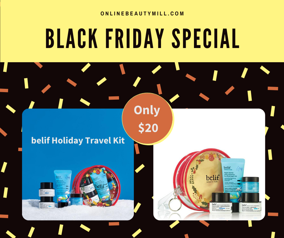 belif Travel Kit by Avon
