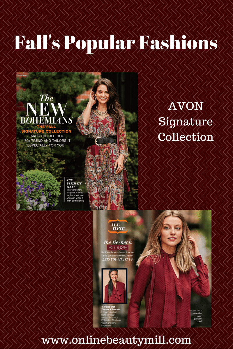 Avon New Fall Collection