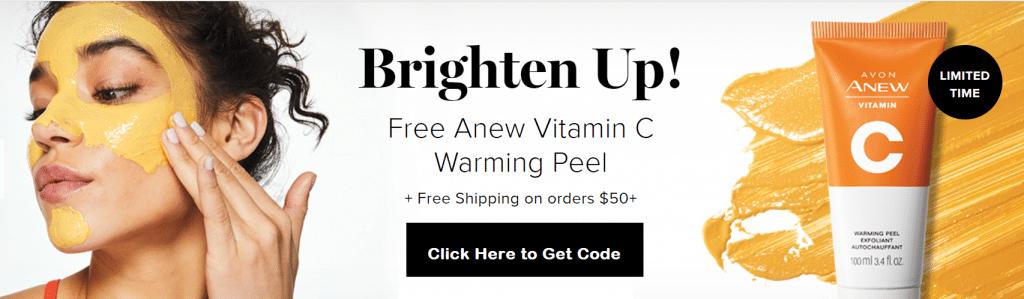 Free Avon Warming Peel