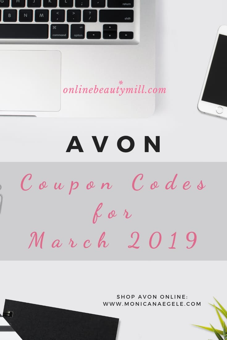 Avon Coupon Codes for March 2019