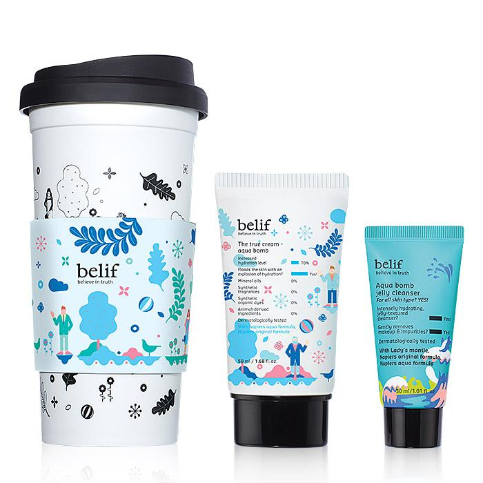 Limited-Edition belif Aqua Bomb Tumbler Set