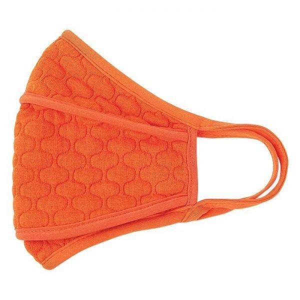 Avon Defense Embossed Face Mask - Orange Only
