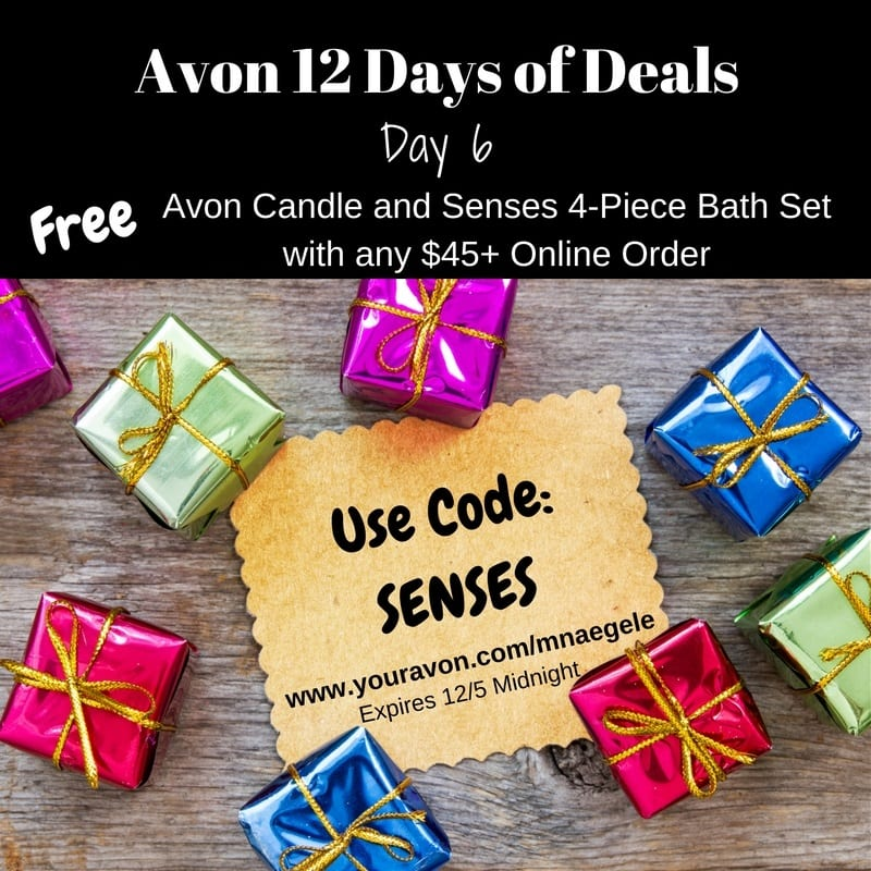 12 Days of Deals for Avon Online Customers 2016