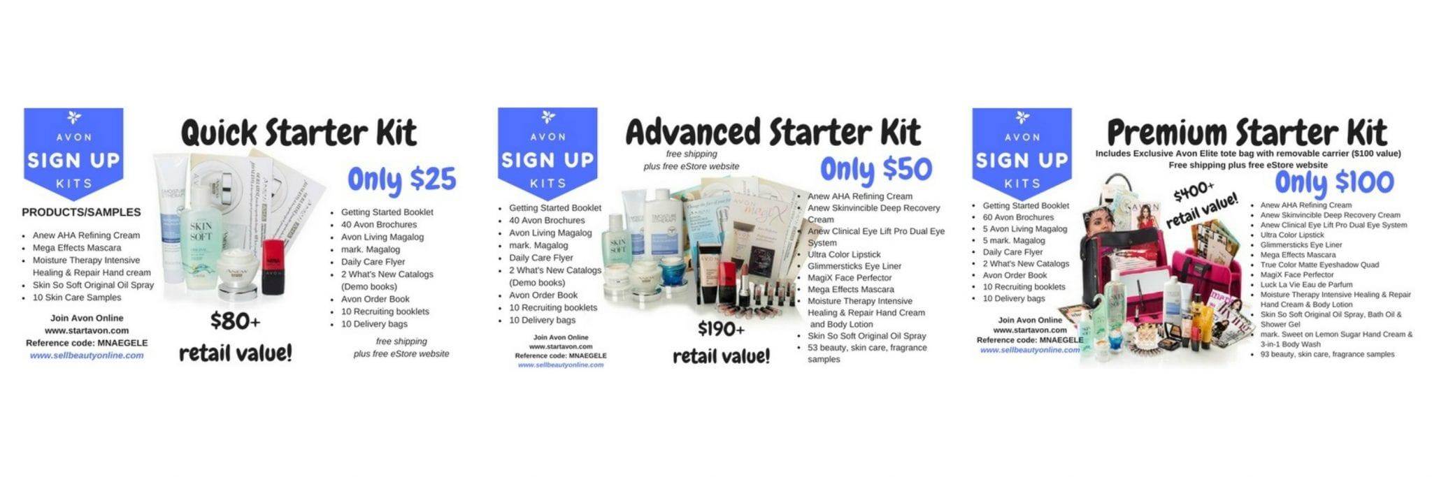 start selling avon online