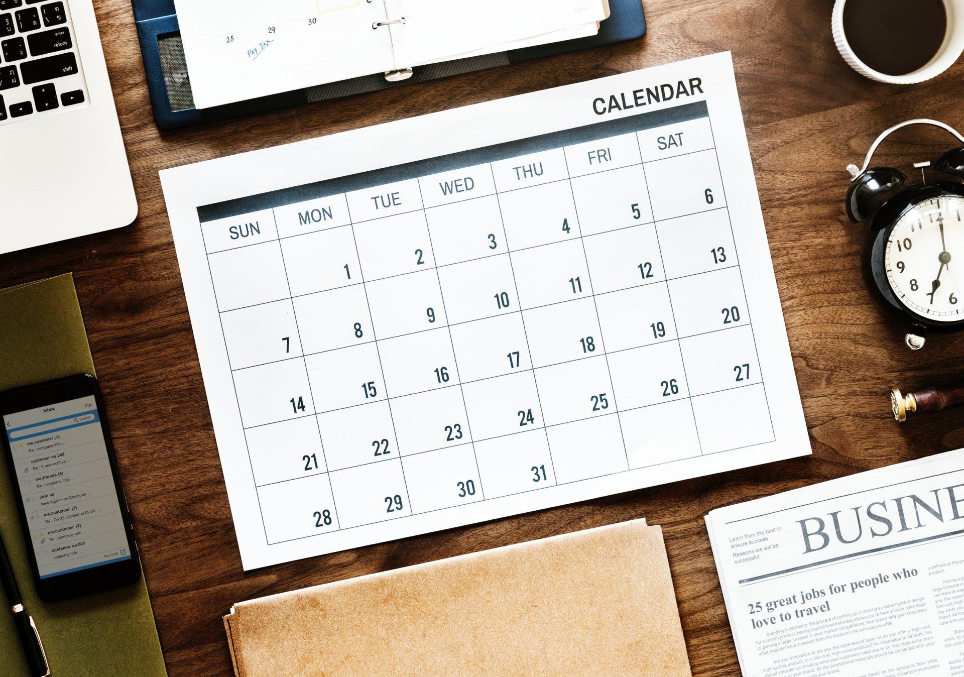 avon calendar dates