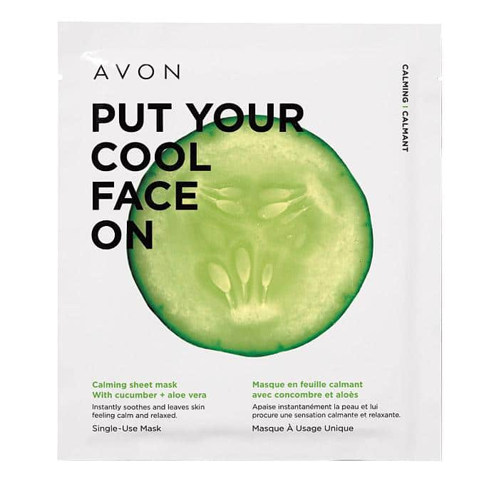 Avon Calming Sheet Mask