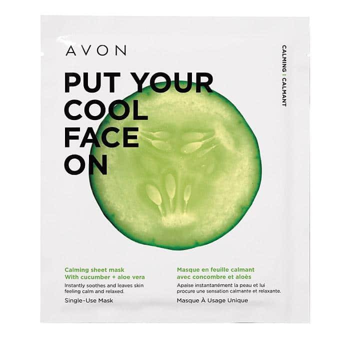 Avon Calming Sheet Mask
