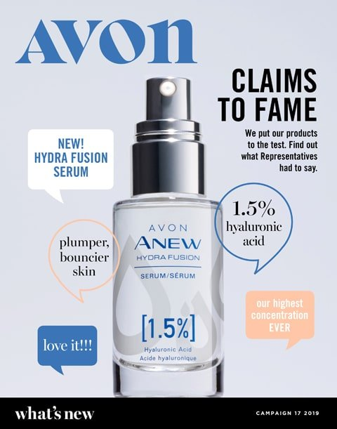 Avon Campaign 17 2019 What's New