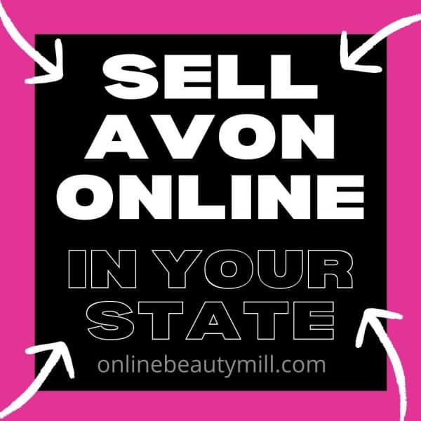 Sell Avon Online in your state