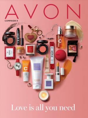 Avon Catalog Campaign 4 2021