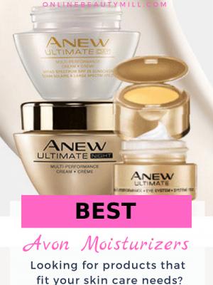 best avon moisturizers